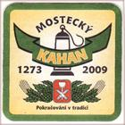 Brewery Most - Mostecký Kahan, Beer coaster id2520
