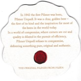 Beer coaster id3436