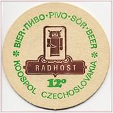 Beer coaster id1626