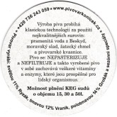 Beer coaster id3499